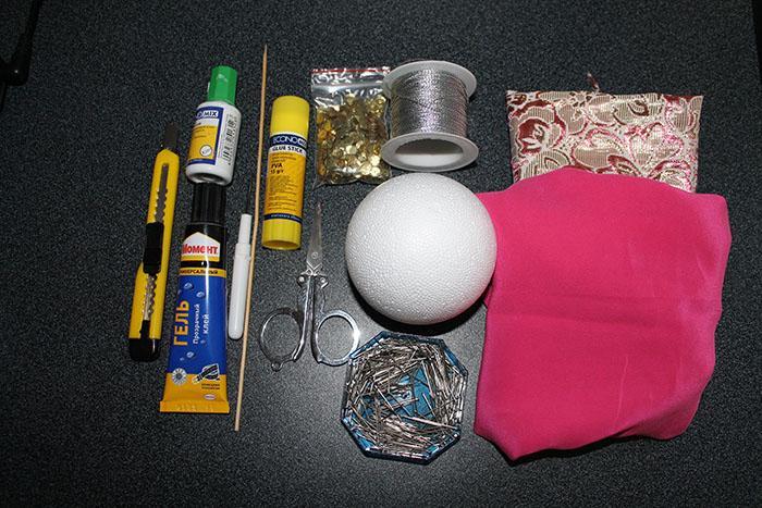 инструменты для изготовления игрушки