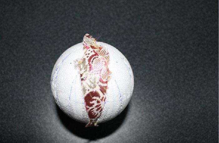 вставленный лепесток в шар
