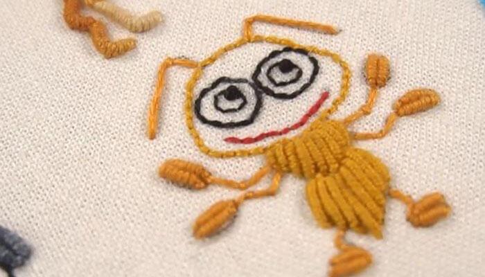 вышивка муравей 5