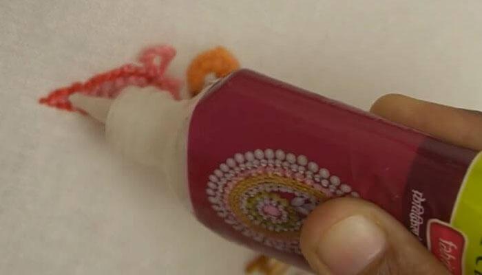 вышивка розовый фламинго-9