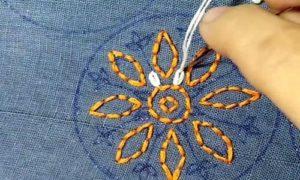 вышивка цветы схемы 27