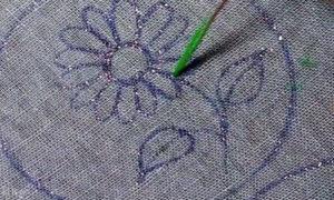 цветок ромашка 2
