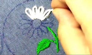 вышивка цветы схемы 25