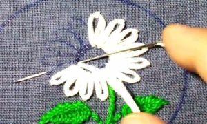 вышивка цветы схемы 24