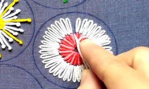 вышивка цветы схемы 22