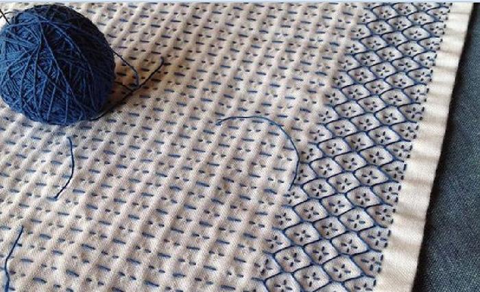 схемы вышивки на ткани