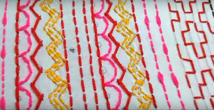 схемы вышивки цветная1