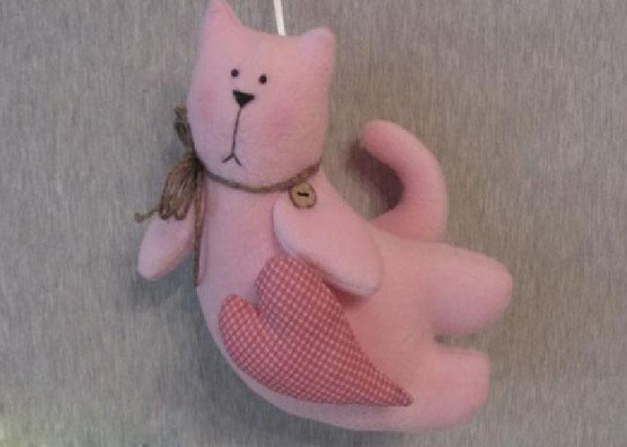 выкройка игрушки кота 5