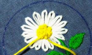 вышивка цветы схемы 5