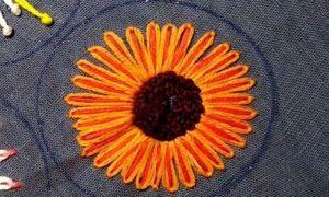 вышивка цветы схемы 7