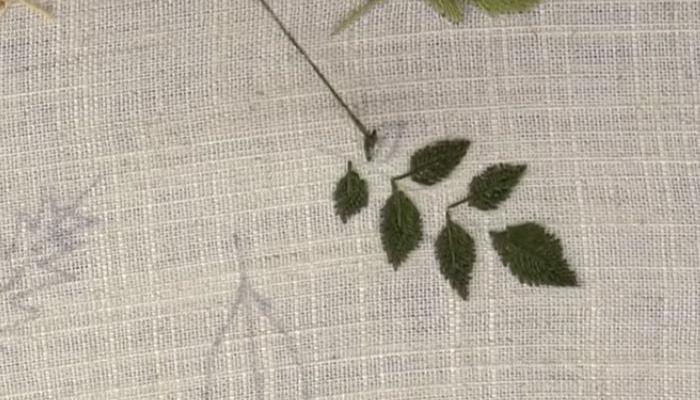 гладью листья 14