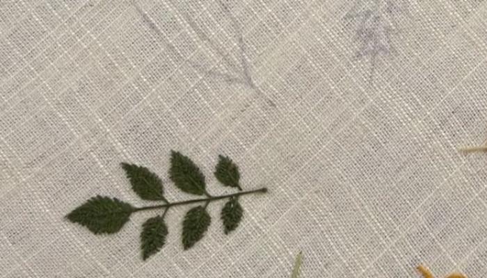 гладью листья 13