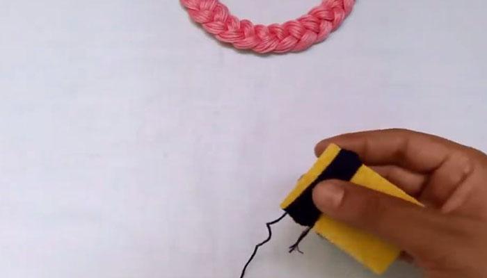 нитки на шаблон