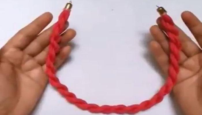 скрученная веревочка