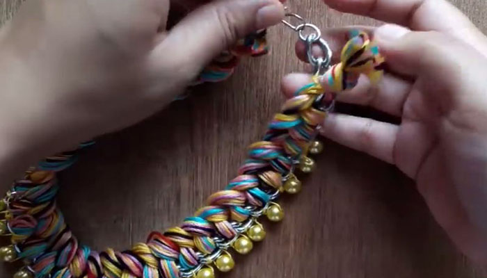 ожерелье своими руками-24
