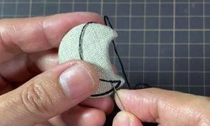 вышиваем мордочку коту 2