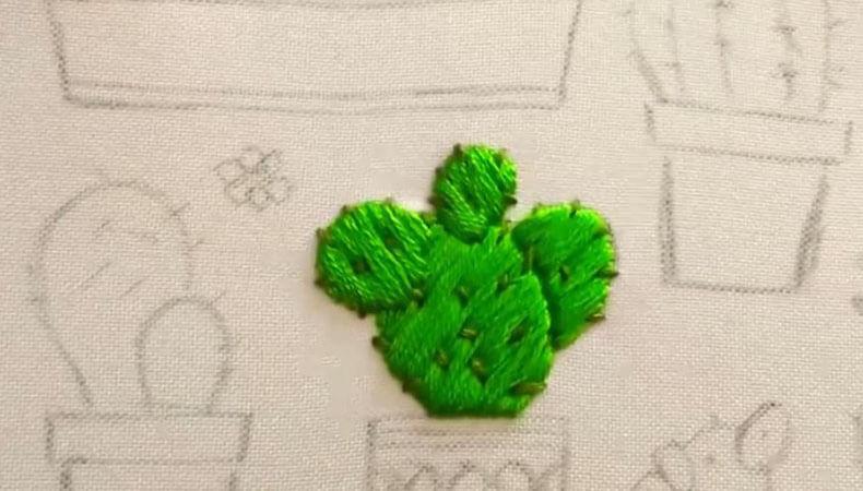 вышивка гладью кактусы 13