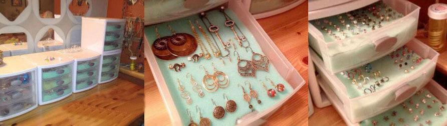 как хранить украшения в шкафах