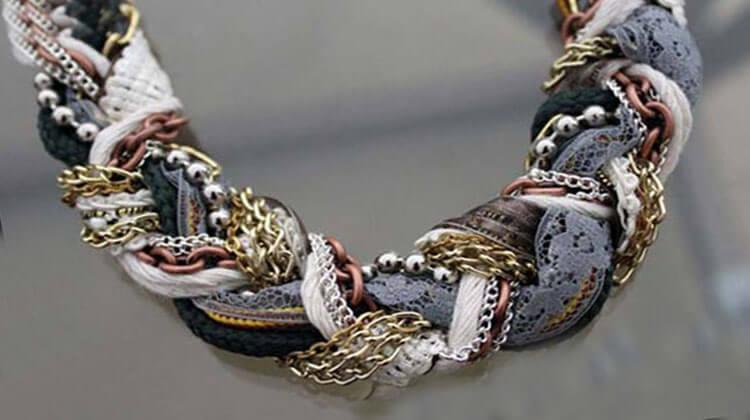 как сделать ожерелье - 2