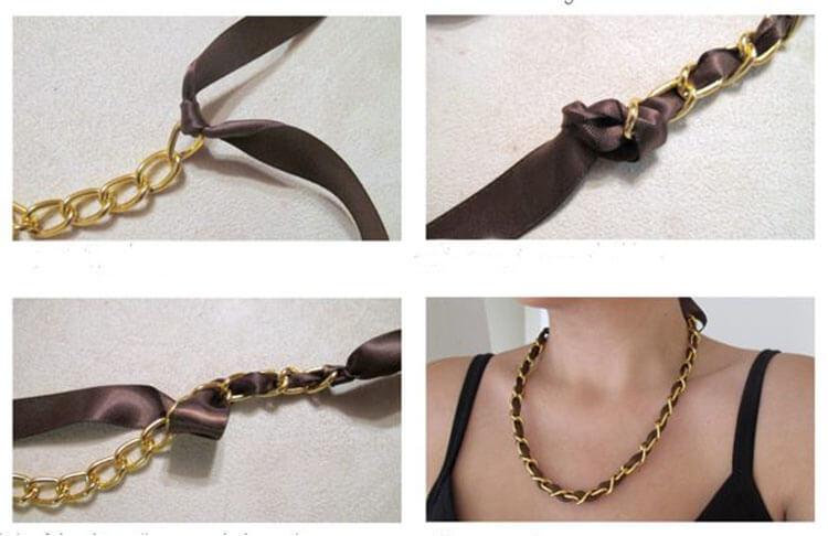 как сделать ожерелье - 25