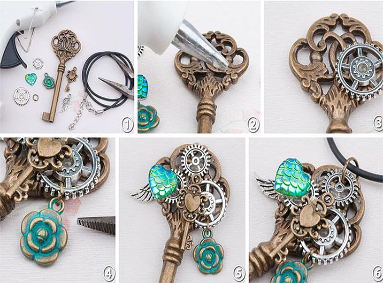 как сделать ожерелье - 5