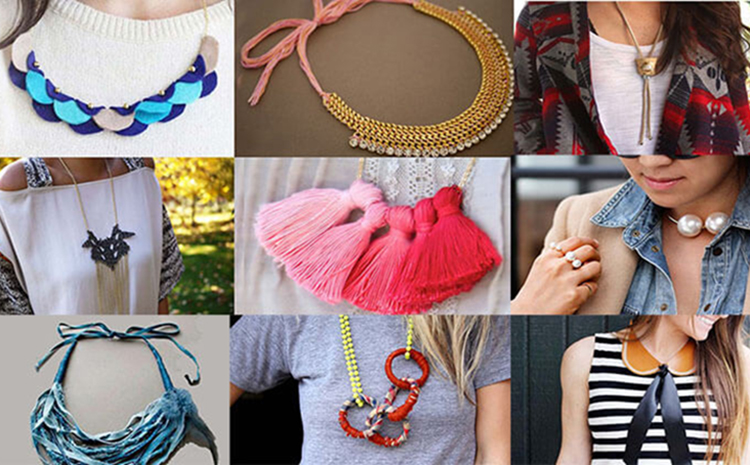 Как сделать ожерелье: 45 + идеи и 12 мастер-классов