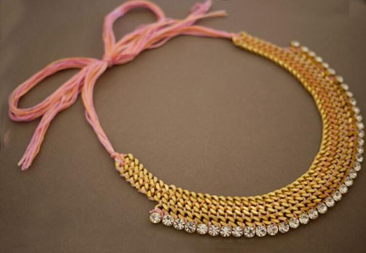 ожерелье из цепочки