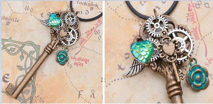 ожерелье с ключем