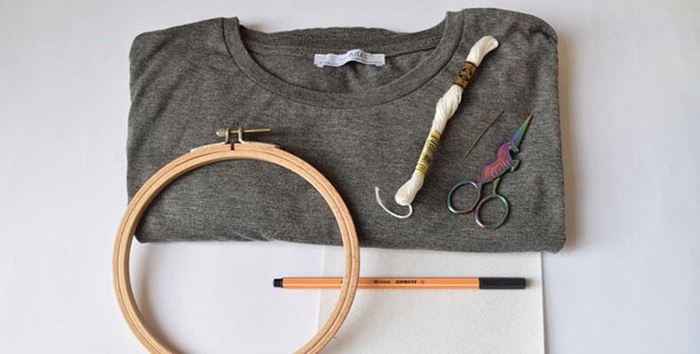 футболка с инструментами