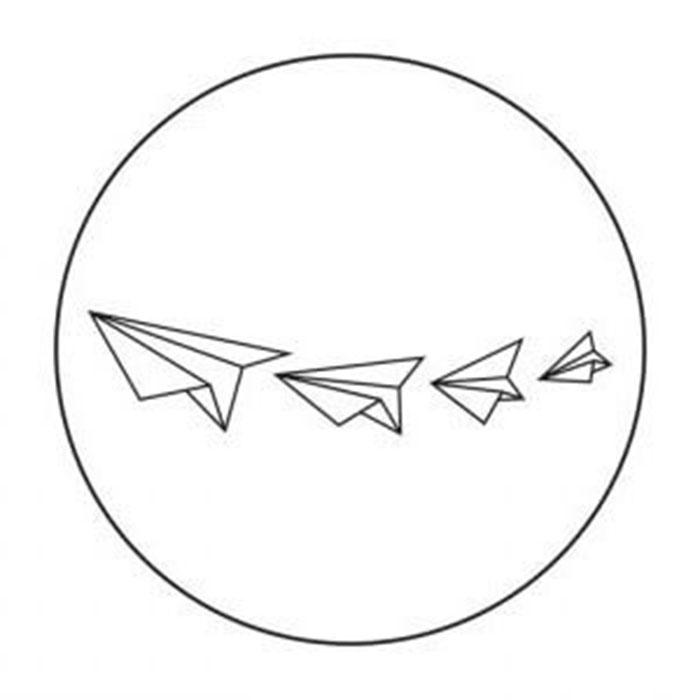 схема для футболки самолетики