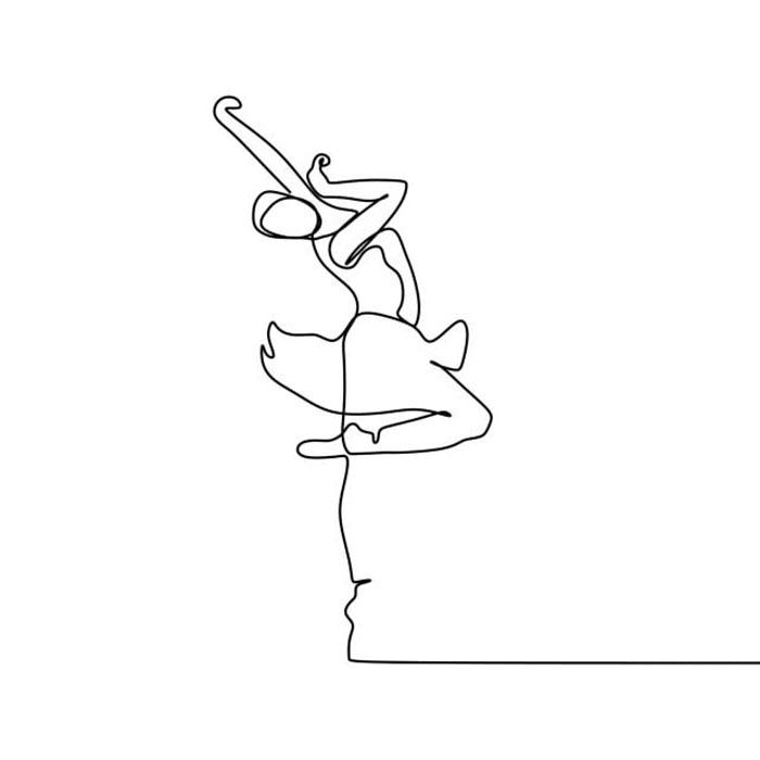 схема для футболки балерина