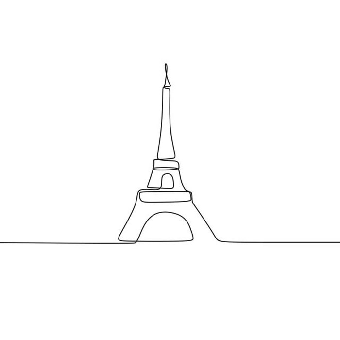 схема для футболки башня