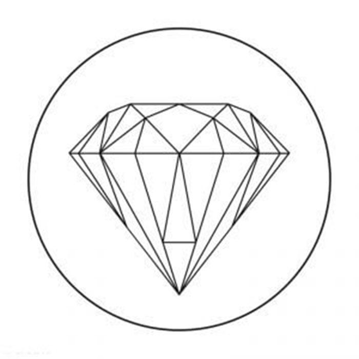 схема для футболки бриллиант
