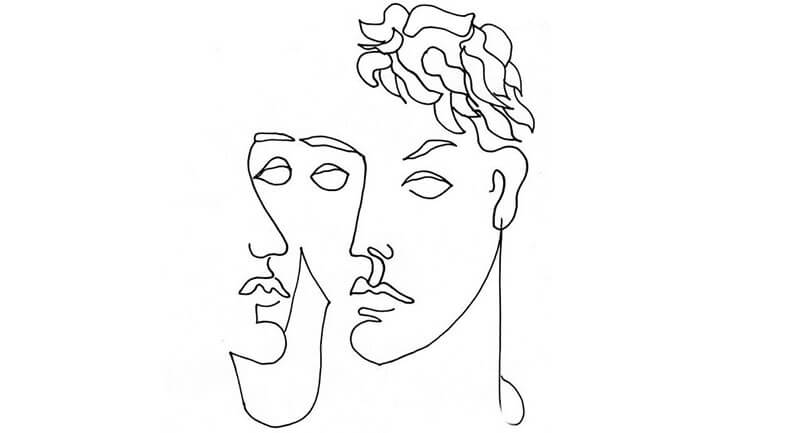 вышивка футболки схема лицо