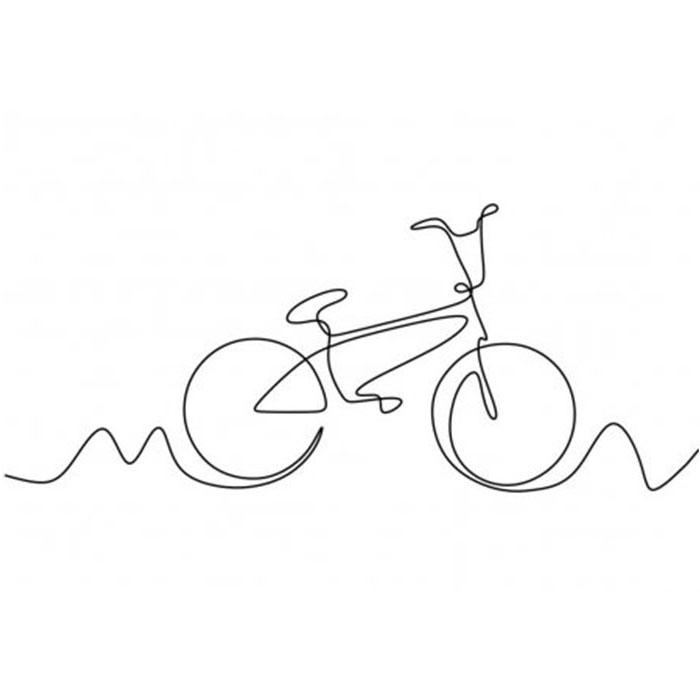 схема для футболки велосипед