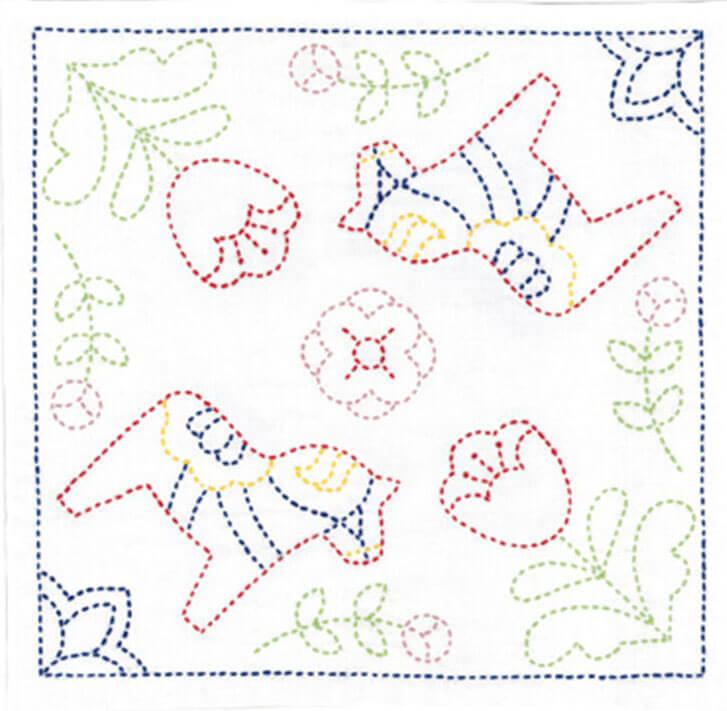 японская вышивка сашико 7