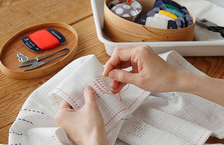 японская вышивка сашико 2
