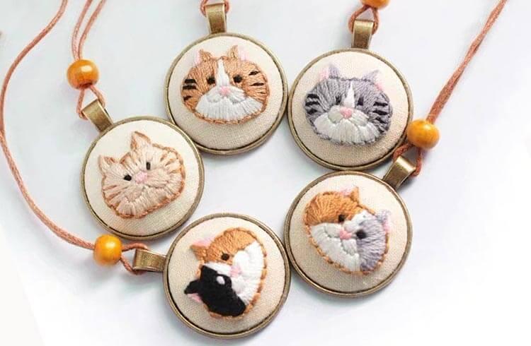 кулоны кошка