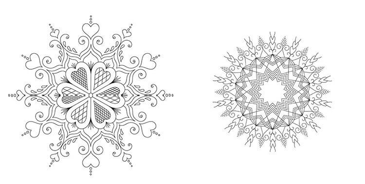 две схемы калейдоскопа