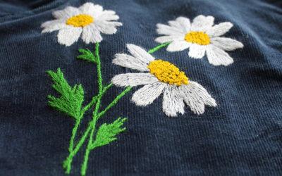 Вышивка цветов для начинающих: 45 + схем, 5 мастер-классов и видео