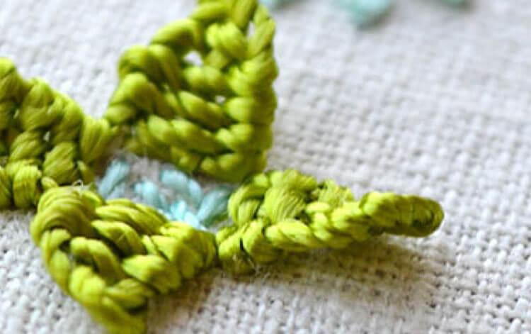 Вышивка гладью схемы цветы 6