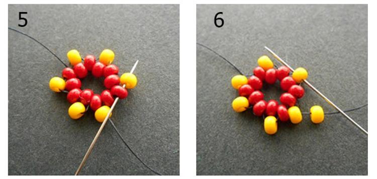 плетение жгута 5