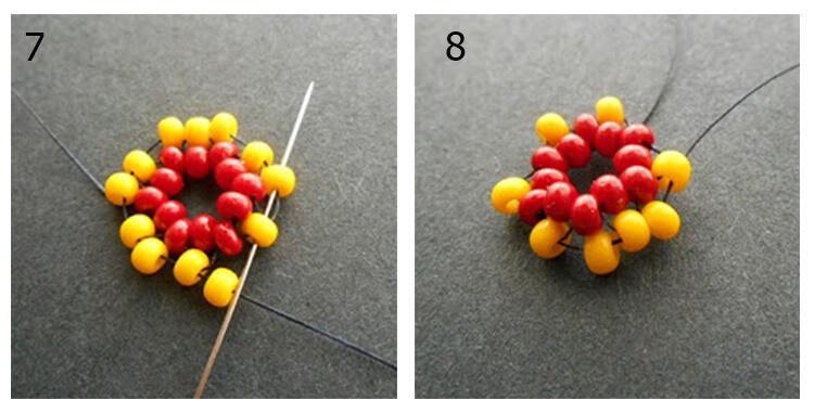 плетение жгута 1