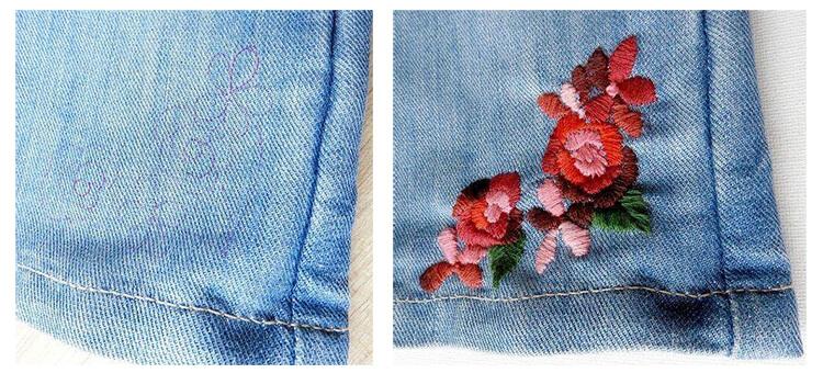 Как вышивать на одежде 22