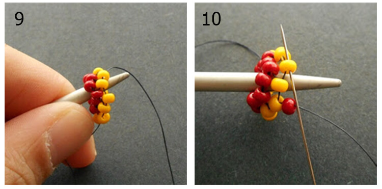 плетение жгута 4