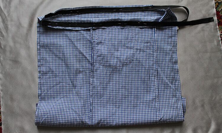 сумка из юбки 10