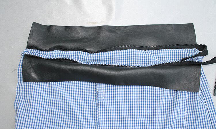 сумка из юбки 11
