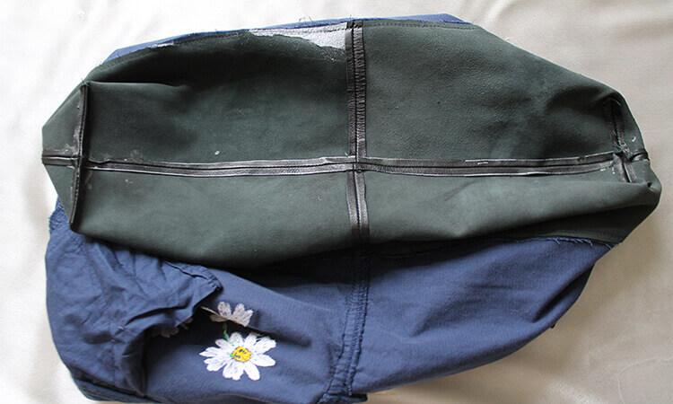 сумка из юбки 4
