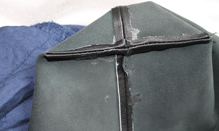 сумка из юбки 6