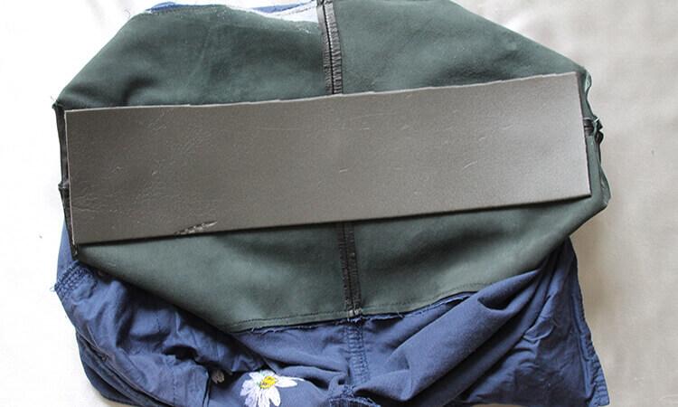 сумка из юбки 7